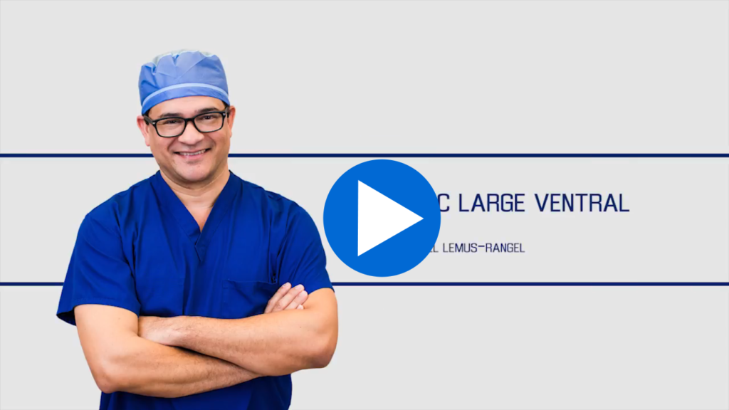 Robotic Large Ventral Hernia Bakersfield surgeon